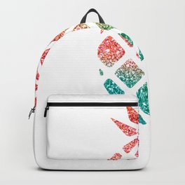 Colorful Pineapples Rainbow Backpack