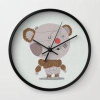 thundercats Wall Clocks featuring Ro-Bear-Bill by Rod Perich