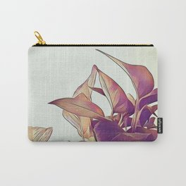 Pothos in pink Carry-All Pouch