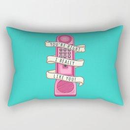 Dream phone Rectangular Pillow