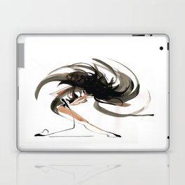 Expressive Ballerina Dance Drawing Laptop & iPad Skin
