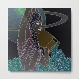 Aquarius #1 Metal Print