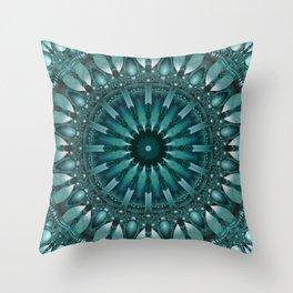 Mandala Sociability Throw Pillow