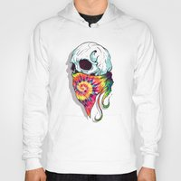 hipster Hoodies featuring Hipster by Steven Toang
