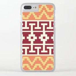 Inca Love Clear iPhone Case
