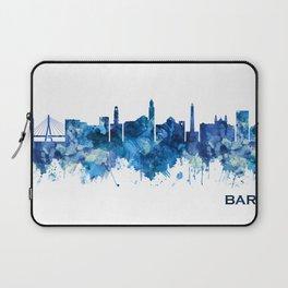Bari Italy Skyline Blue Laptop Sleeve
