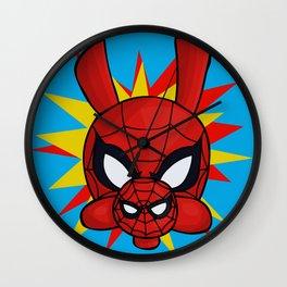 Spider-Ham Face Wall Clock
