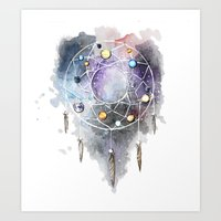Space dream Art Print