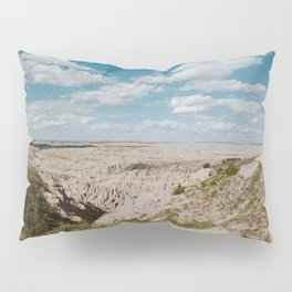 Red Shirt Table - Badlands National Park Pillow Sham