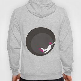 The Equilibrist Cat at Night Hoody