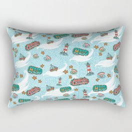 About the sea Rectangular Pillow