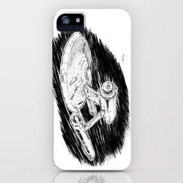 USS Enterprise iPhone Case