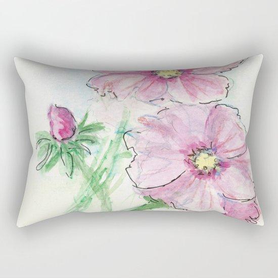 Minute Waltz Rectangular Pillow