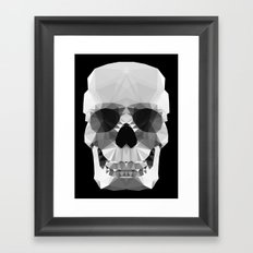 Polygon Heroes - Crystal Skull Framed Art Print