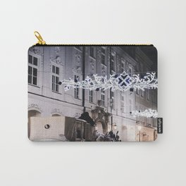 Winter Horse Carriage Ride (Color) Carry-All Pouch