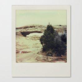 Canyonland National Park - Polaroid Canvas Print
