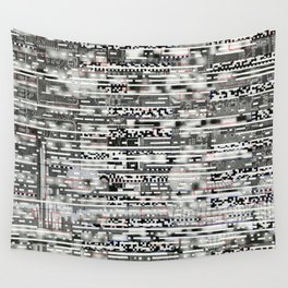 Removing Filters (P/D3 Glitch Collage Studies) Wall Tapestry