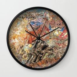 Uncommon Valor Wall Clock