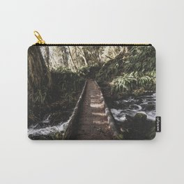 Hoh Rainforest River Trail Carry-All Pouch