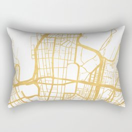 SYDNEY AUSTRALIA CITY STREET MAP ART Rectangular Pillow