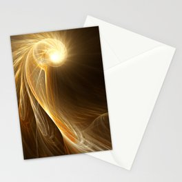 Golden Spiral Stationery Cards