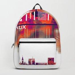 Bordeaux France Skyline Backpack