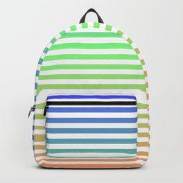 Beach Blanket - Tricolor Backpack