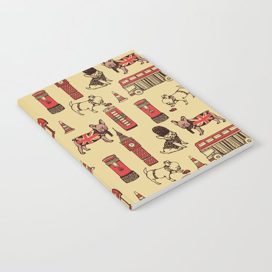 London Frenchies Notebook