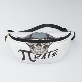 Pirate Funny Math Pun Pi Day Gift Math Science Lover Pi day Fanny Pack