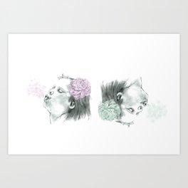 Spring wind Art Print