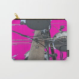 Electric Pink Bubble Gum Bitches! Carry-All Pouch