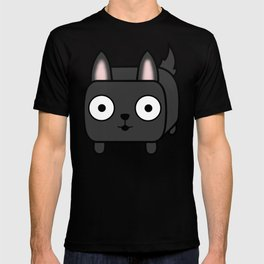 German Shepherd Loaf in Black T-shirt