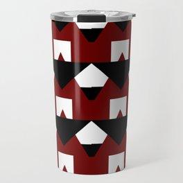 Modern Geometric Abstract Pattern Travel Mug