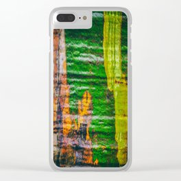 Textures of Camo Clear iPhone Case