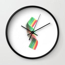 Candy Strip Wall Clock