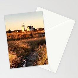 Hardings Beach Light House Stationery Cards