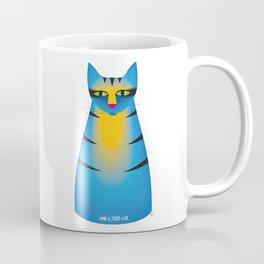 milk bottle cat : Terry Coffee Mug