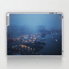 City Lights at Twilight Laptop & iPad Skin