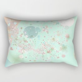 Peppermint and Butterscotch Rectangular Pillow