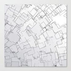 Plan abstract Canvas Print
