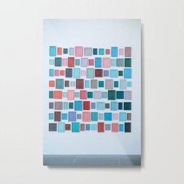 Color on the wall Metal Print