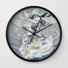 Moon Oiran Wall Clock