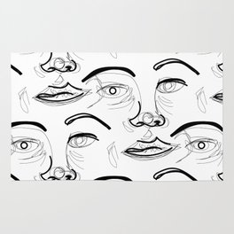 Face Off (2) Rug