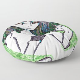 Pale Figure Floor Pillow