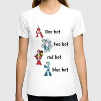 dr seuss T-shirts featuring 'Lots of Bots' by Dr. Light (Mega Man / Dr. Seuss parody) by PeterParkerPA