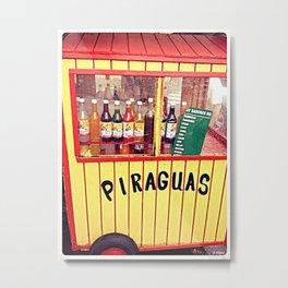 Piraguas Metal Print