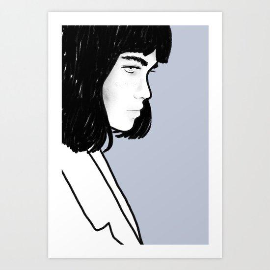 G I R L S 03 Art Print