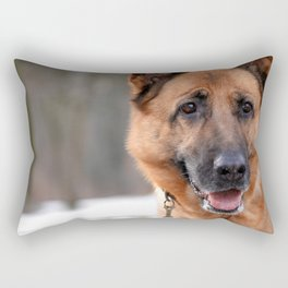 Do you want to play with me? Rectangular Pillow