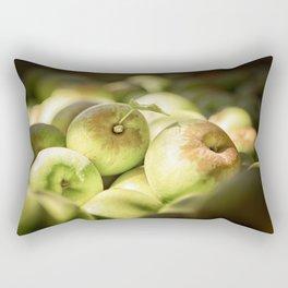 Green Jewels Rectangular Pillow