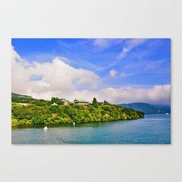 Lake Ashi Canvas Print